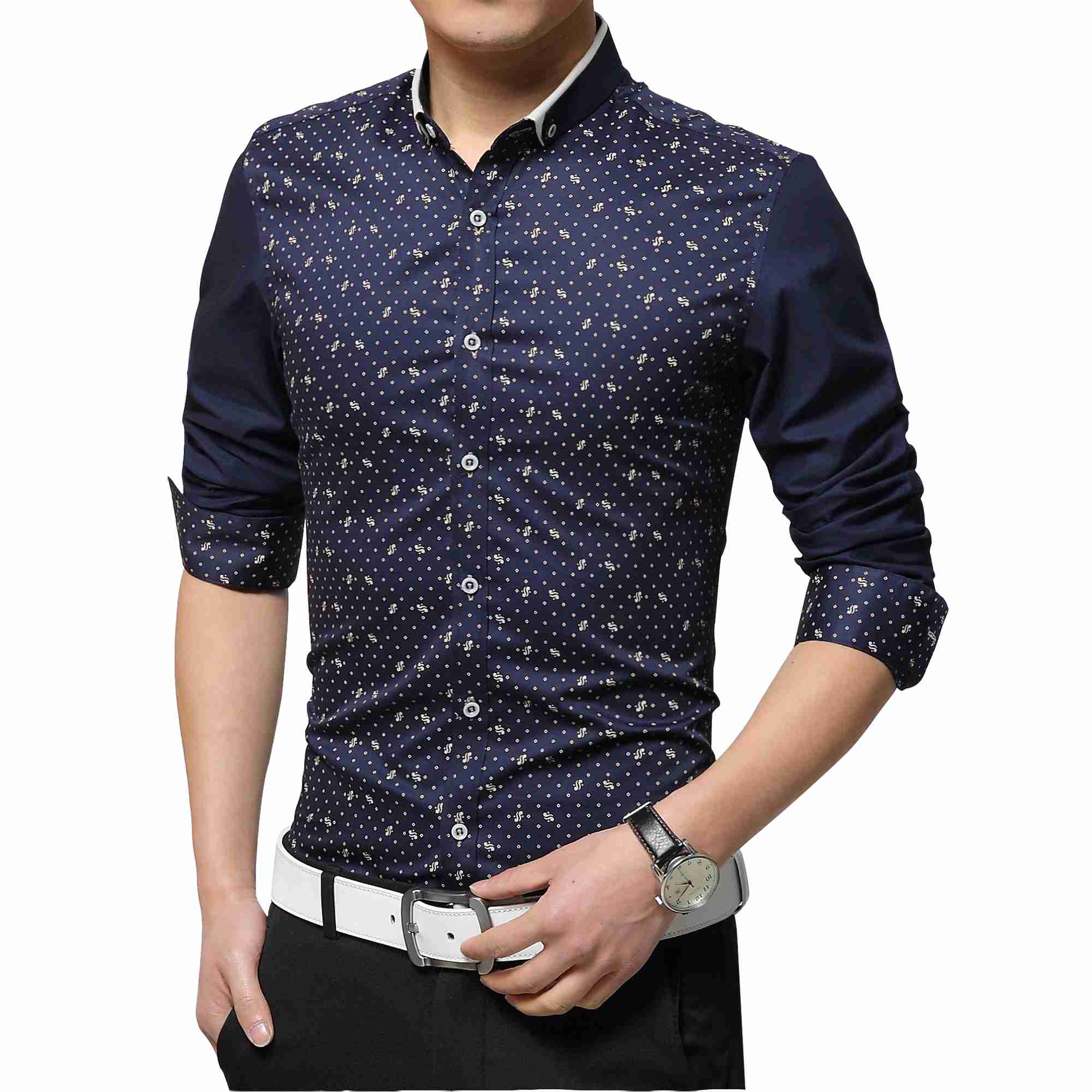 Aliexpress.com : Buy Men long sleeve cotton non iron shirts ...