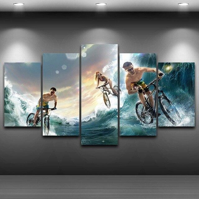 HD impreso Decoración para el hogar enmarcado arte de la pared ...