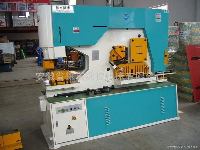 Q35Y Hydraulic combined punching and shearing machine with many function
