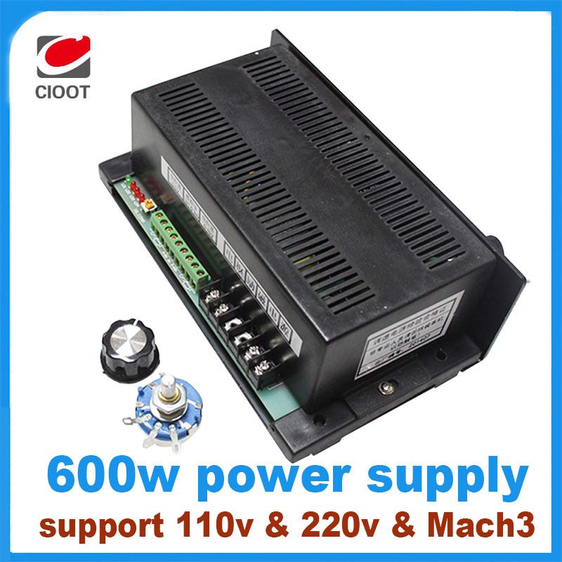 2017 Sale Rushed 600w Engraving Machine Spindle Speed Control Power Supply Support Mach3 Ontrol 110v Or 220v Motor 1pcs ld57gf power 600w spindle speed engraving machine spindle dc speed governor support mach3 soft control of motor speed