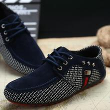 2018 New arrival Men Shoes Mens Spring Autumn Casual Breathable Flats Male Fashion Lightweight Suede
