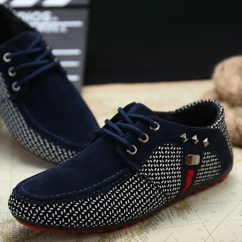 2018 neue ankunft Männer Schuhe Herren Frühling Herbst Casual Atmungs Wohnungen Männlichen Mode Leichten Wildleder Schuhe Freizeitschuhe