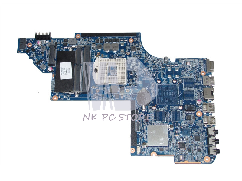 641490-001 Main Board For Hp Pavilion DV6 DV6-6000 Laptop Motherboard HM65 GMA HD3000 DDR3 mb rn60p 001 mbrn60p001 main board for acer aspire 7739 7739z laptop motherboard hm55 ddr3 gma hd