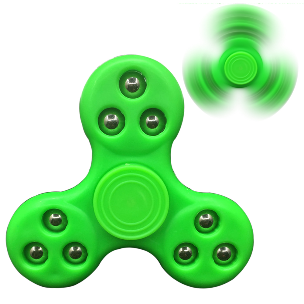 Mini Finger Spinner Steel Balls Fidget Hand Spinner Adult Kid ADHD Focus Toy