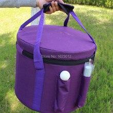 Carry case for 11″-12″ quartz crystal singing bowls Purple Color