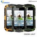 Nuevo original oinom v7 lmv7 ip67 resistente a prueba de agua teléfono mtk6572 se doblan el androide gorilla glass 3g gps 3600 mah 5mp a prueba de golpes