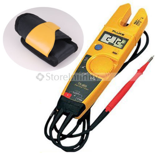 FLUKE T5-600 Clamp Meter Continuity Current Electrical Tester with Holster H6