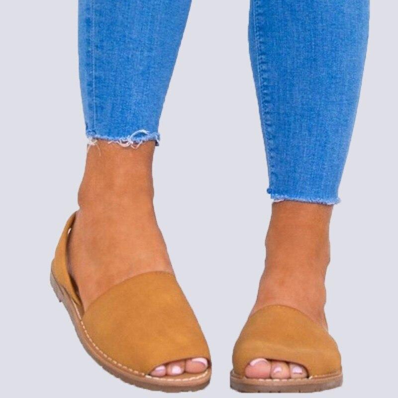 d3a7b639b Fornecimento de novos Modelos Quente de Verão de Grande Porte Mulheres  Sapatos Sandalias Estilo Romano Retro