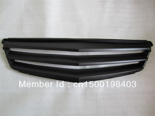 Mesh Grille/Car Front Grille/Grills/For Mercedes-Benz 2009-2012 E200 E260 E280 E350/FRP Materials/W212