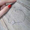 Designer de moda 925 Sterling Silver Jewelry platinadas 3A Cubic Zirconia partido pulseira