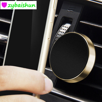 Magnetic Car Phone Holder Smartphone Car GPS Seat for Mitsubishi ASX Outlander Lancer Evolution Pajero Eclipse Grandis FORTIS image
