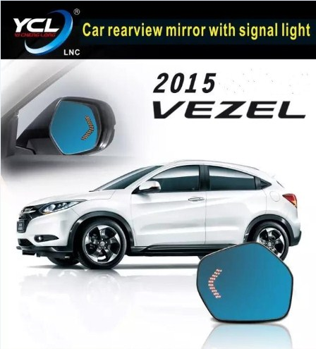Qirun rear view blue mirror with led turn signal arrow and electric heating for Mitsubishi pajero 2016Qirun rear view blue mirror with led turn signal arrow and electric heating for Mitsubishi pajero 2016