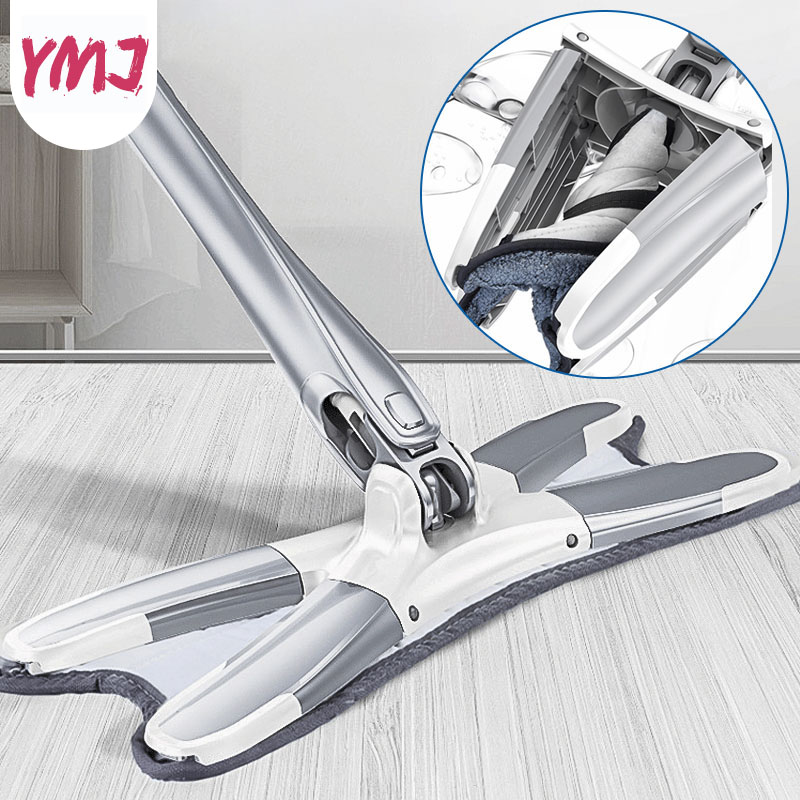 Household Mop Floor Cleaner Long Aluminum Alloy Handle Microfiber Material Strong Water Absorption Free Hand Wash Floor Mop SpinHousehold Mop Floor Cleaner Long Aluminum Alloy Handle Microfiber Material Strong Water Absorption Free Hand Wash Floor Mop Spin