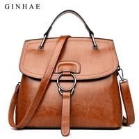 Famous Brand Luxury Handbags Women Bags Designer Fashion Shoulder Bags Laides High Quality PU Leather Bags Women Sac Femme New