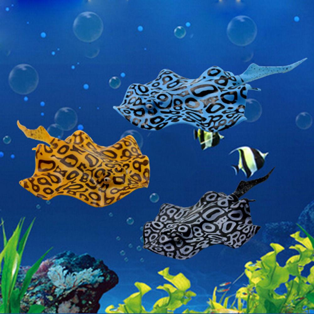 Artificial aquarium fish tank - Decor Devil Goldfish Aquarium Jellyfish Artificial Luminous Fish Tank Ornament China Mainland