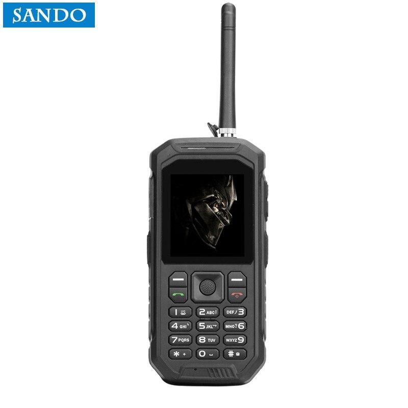 Gros Jeasung X6 grande batterie mobile téléphone cellulaire Étanche Et Robuste téléphones mobile Grand Torche, talkie Walkie Fonction, PTT