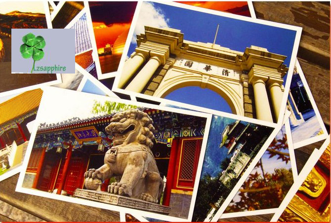 Postcard Christmas Post Card Postcards Gift Chinese Famous  Cities Beautiful Landscape Greeting Cards Ansichtkaarten  Bei Jing 30pcs in one postcard take a walk on the go venice italy christmas postcards greeting birthday message cards 10 2x14 2cm