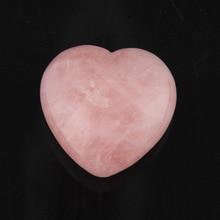 2015 43mm Rose Quartz fluorite lapis Heart Shape Crystal Chakra Stone Carved Healing Reiki Free shipping