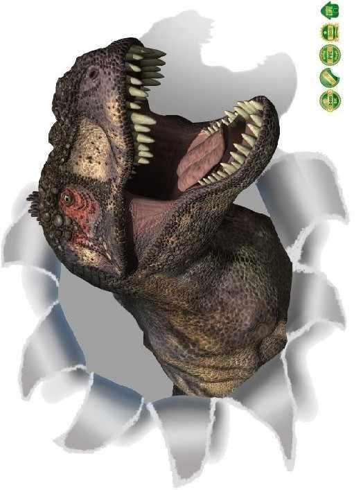 % 3D динозавров ПВХ стены стикеры Детская комната украшения 3d эффект окна Наклейки на стены плакат обои росписи Холодильник туалет