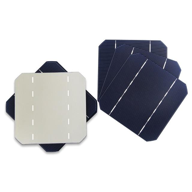 30Pcs EEN Grade 2.8 w/stks 125MM Zonnecel 5x5 Monokristallijn Voor DIY Zonnepaneel