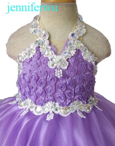 купить baby girl pageant  dress  girl brand clothes baby girl party dress and clothes baby girl  EB3040C дешево