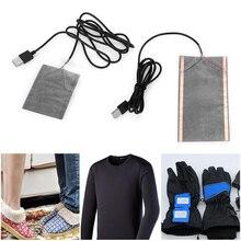 1 шт. безопасный портативный зимний теплый диск USB нагревательный коврик обогреватель для мыши коврик обувь Golve одежда поставки