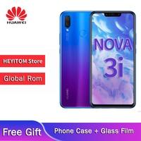 Global versions optional Huawei nova 3i RAM4GB/6GB+128GB 6.3 inch large screen Kirin710 processor official original smartphone