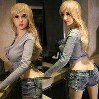 168 cm Grande de Mama de Silicona Muñecos Reales Sexo Culo Coño Realista de Tamaño natural de la Vagina Grande Colillas Love Doll Juguetes Adultos Masculinos japonés