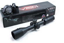 VISM Center Beam 3 9X42 Tactical Riflescope w Integrated 1mw Red Laser Sight Hunting Rifle Scope