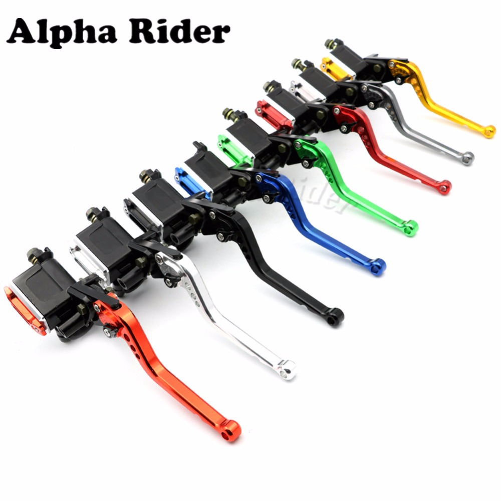 7/8 22MM Adjustable Clutch Levers Brake Master Cylinder for Kawasaki Z750R Z750S Z800 Z1000 ZX6R ZX636R ZX7R VERSYS free shipping motorcycle 7 8 22mm clutch lever brake hydraulic master cylinder levers for kawasaki ninja zx 6r 636 zx 10r