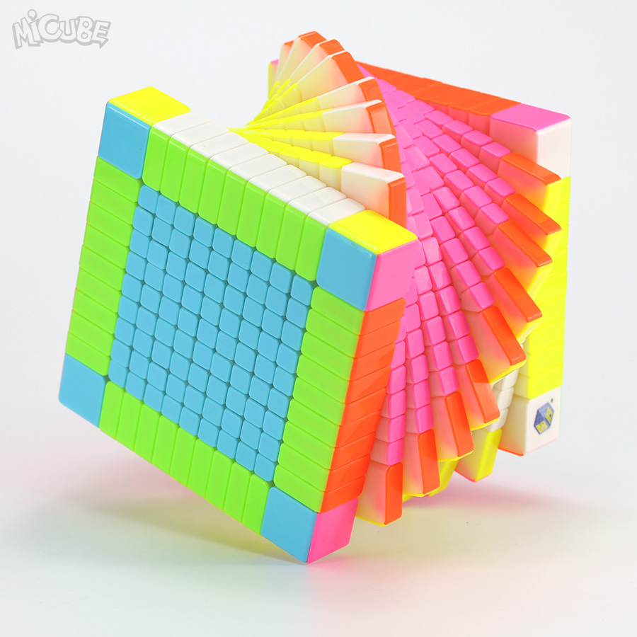 Micube YuXin Zhisheng 11x11x11 Cube HuangLong 11x11 Magic Speed Cube Competition Twist Puzzle Game 11 layer Cubo Education Toy
