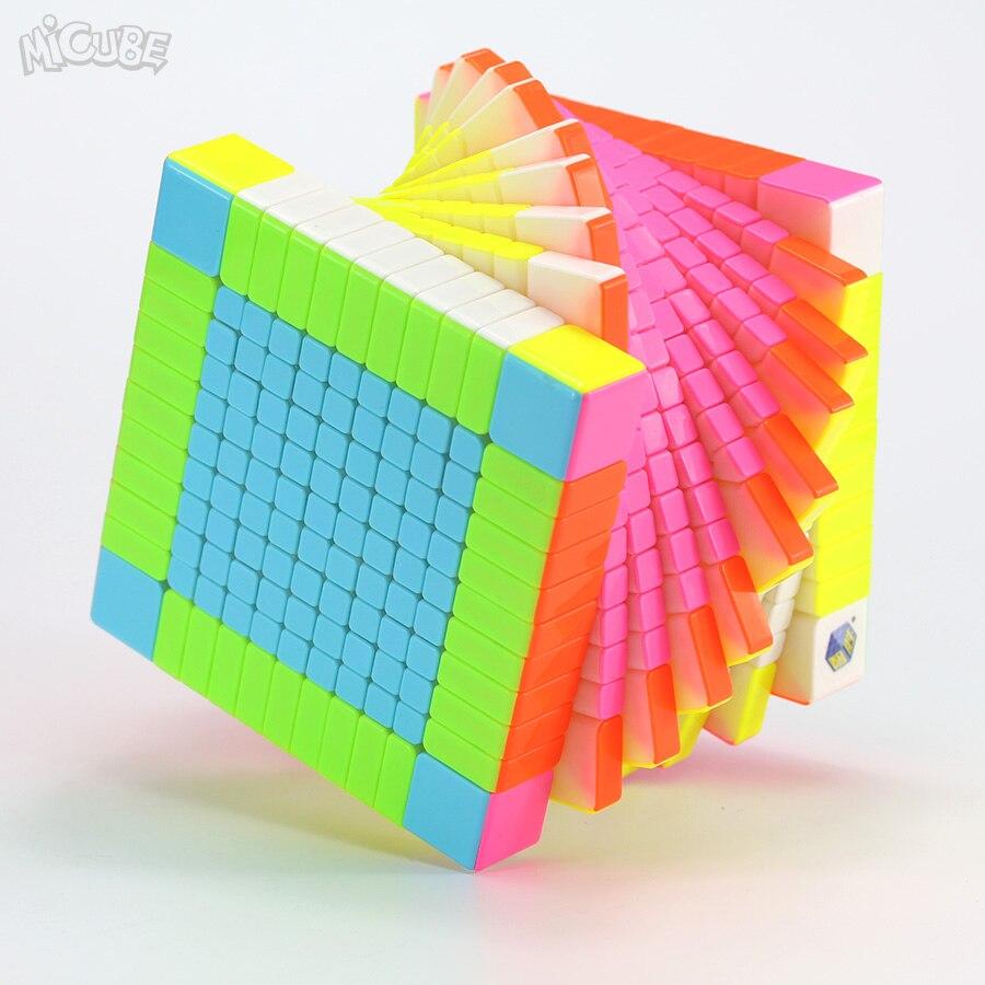 Micube YuXin Zhisheng 11x11x11 Cube HuangLong 11x11 magique vitesse Cube compétition torsion Puzzle jeu 11 couche Cubo éducation jouet