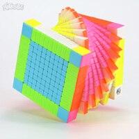 Micube YuXin Zhisheng 11x11x11 Cube HuangLong 11x11 магический скоростной куб соревнование твист игра головоломка 11 слой Cubo обучающая игрушка