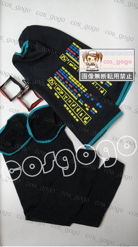 Vocaloid Cosplay Hatsune Miku Cosplay conjunto completo de trajes - Disfraces - foto 4