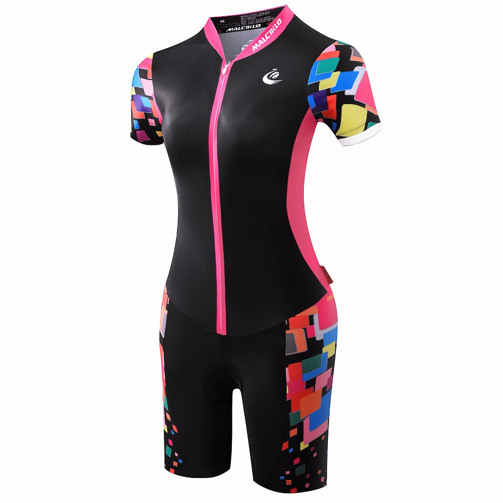 Malciklo Women Jumpsuit 2017 High Quality Ropa Ciclismo ...