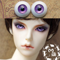 1Pair Retail SD BJD Dolls Accessories Purple Color  Acrylic Doll Eyes BJD Eyes 12MM 14MM 16MM