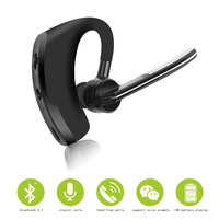 Business Bluetooth Earphone Wireless Handsfree Bluetooth V4 1 Headset With Microphone Headphone Voice For Iphone Sumsung
