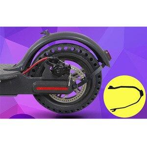 Image 5 - حامل دعامة واقيات الطين للحاجز الخلفي من شاومي Mijia M365 ملحقات الدراجة الكهربائية واقي من الأجزاء الخلفية لكابل الإضاءة