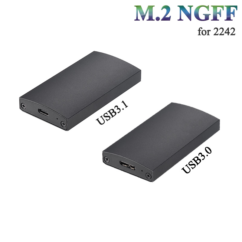 M 2 NGFF Type C SSD hard drive case to M 2 aluminum shell External hdd
