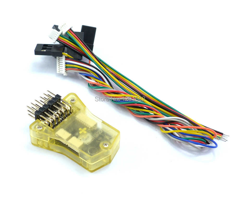 mini cc3d openpilot atom cc3d flight controller board with shell side  pin / straight pin for
