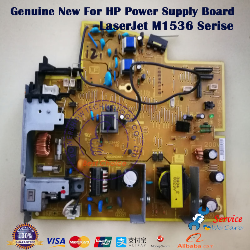 Original New OEM RM1 7629 RM1 7630 For HP 1536 Power supply Board Engine controller M1536