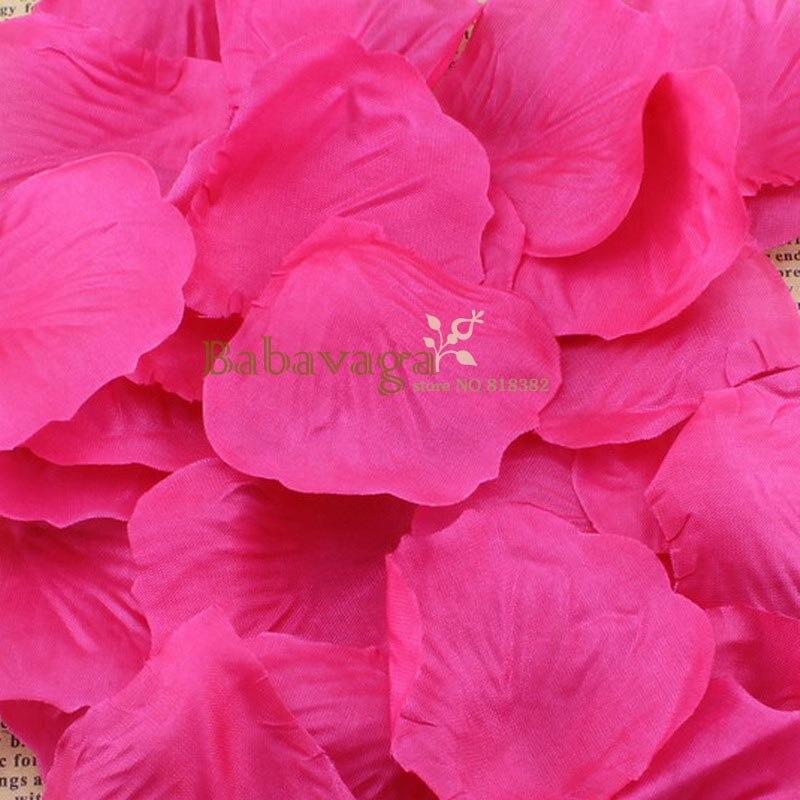 Rosenblüten 1000 Stücke Seide Rose Blume Hochzeit Petalas Artificiais Bankett Schmuck Favor Tischdekoration Wohltuend FüR Das Sperma