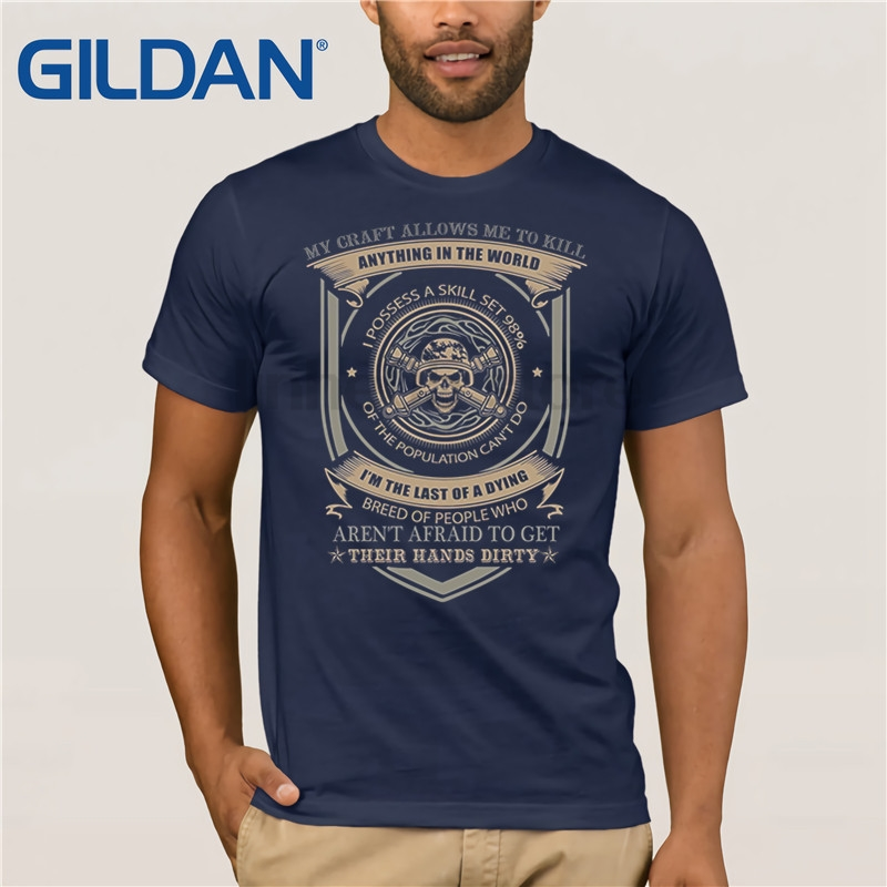 GILDAN Field Artillery T-shirt , my craft allows me to kill anythin