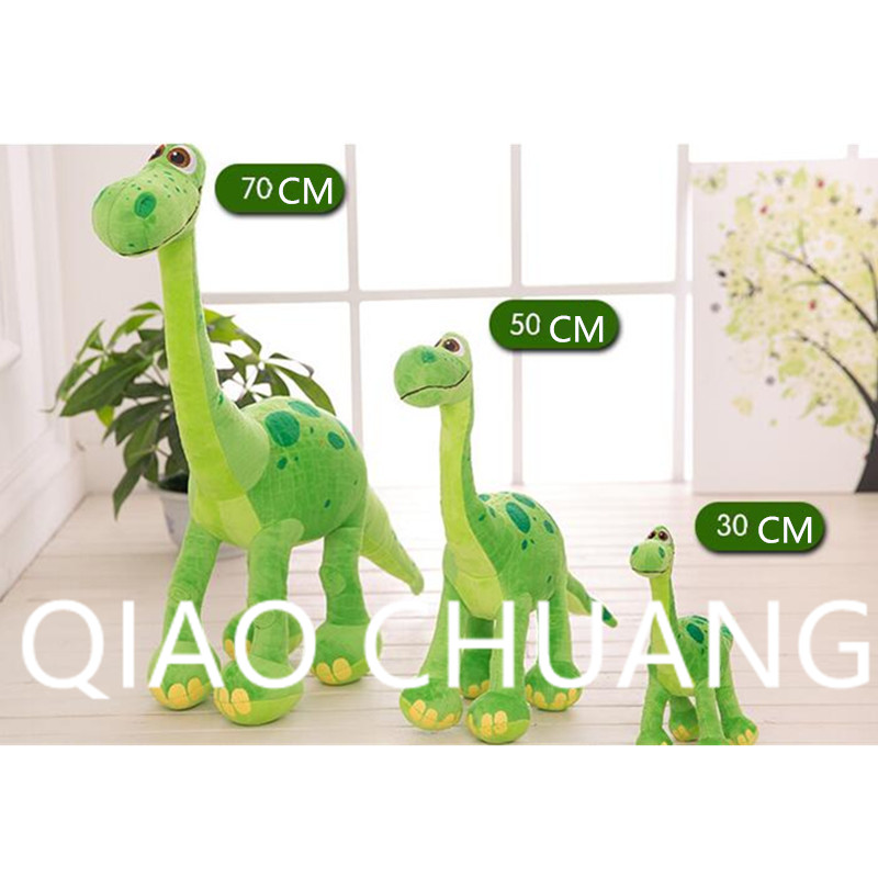 Lovely Animal Stuffed Toy Simulation Q Version Dinosaur Short Plush Pillow Stand Up Ver Home Furnishing Articles G1524