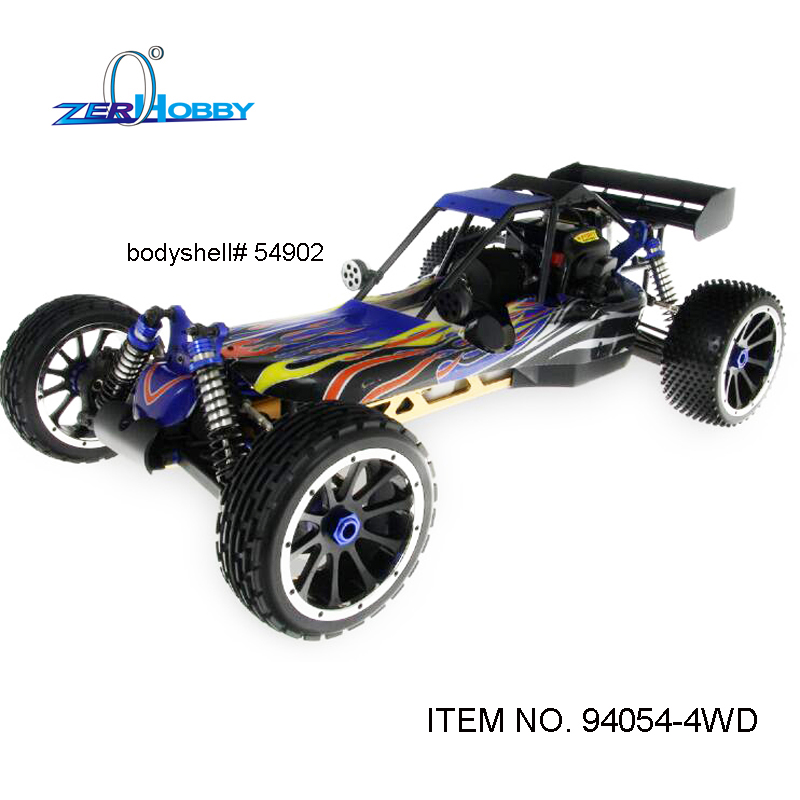 RC CAR TOYS HSP BAJA BUGGY HIGH SPEED 1/5 GAS POWERED 30CC ENGINE OFF ROAD BUGGY BAJA 4WD SYSTEM 2.4G RADIO (ITEM NO. 94054-4WD)