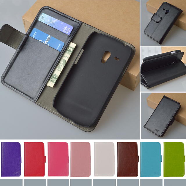 Flip Retro Original Leather Case For Samsung Galaxy S3 Mini i8190 GT-I8190 Cover Original J&R Brand phone cases 9 colors