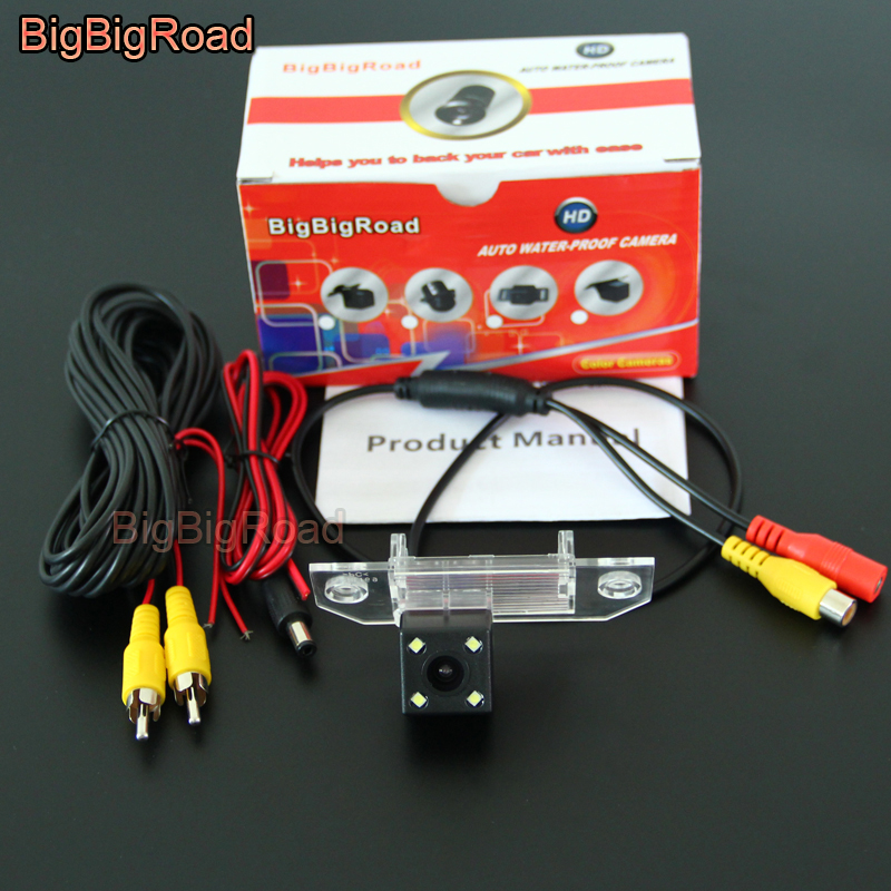 BigBigRoad Car Rear View Reverse Parking CCD Camera For Ford C MAX CMAX Mondeo Focus sedan