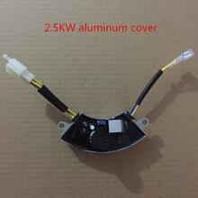 2KW 3KW שלושה שלב אוטומטי מתח רגולטור AVR עבור גנרטור מתכוונן, בנזין גנרטור avr, 6 קווים SK8500W/PK7500W