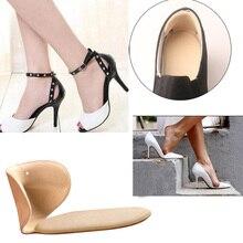 Durable T-Shape Silicone Thread Thicker Rear Foot Wear Sticker High Heels Soft Anti-slip Inserts Shoe Accessories