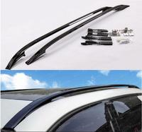 High Quality Aluminum Alloy Car Roof Rack Baggage luggage Bar  Fits For Land Rover Evoque Black\/Silver 2014 2015 2016 2017